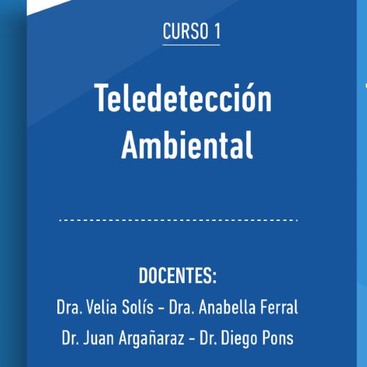 CURSO | Teledetección ambiental